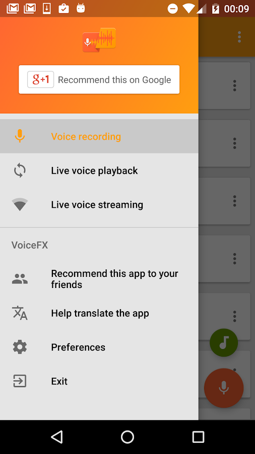 Voice Changer Voice Effects FX- screenshot