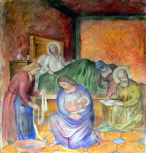 Nascita di Giovanni Battista, duomo di San Donà di Piave