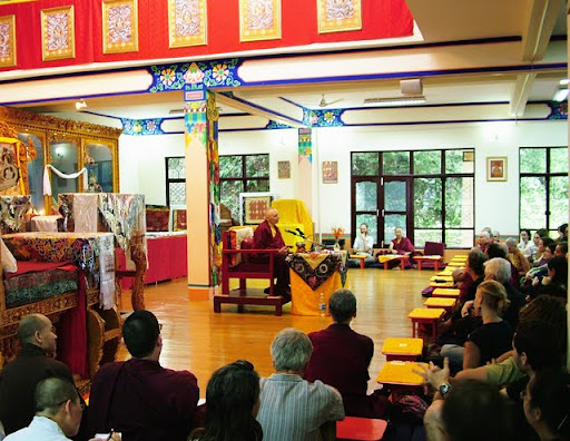 Jetsunma Tenzin Palmo, Tushita Meditation Centre, July 2011, McLeod Ganj, India
