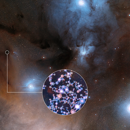 Resultado de imagem para O ingrediente-chave da vida foi encontrado em estrelas jovens