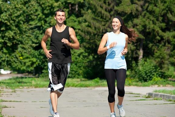 course a pied ou marche rapide