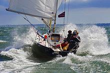 J/80 sailing Cowes Week