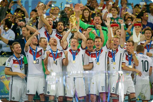 A 3 días del inicio del Mundial Rusia 2018: Alemania reina, Brasil emociona al mundo en el 2014