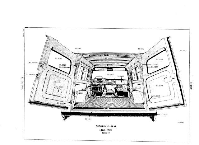 1960-1966 parts list  - the 1947