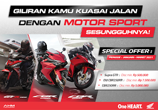 Motor Honda GTR Warna Merah Bagus Untuk Kamu Yang Suka Kecepatan