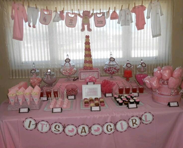 M s y m s manualidades 15 incre bles ideas que har n de for Como decorar mesa de postres para baby shower