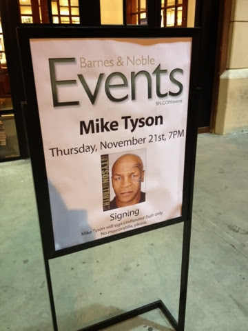 A Night Out With: Mike Tyson