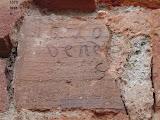 via cavalchini 14 - targa in argilla - 1570 - vend - s (non noto se quantità o anno)