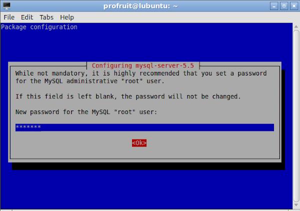 Инсталация на MySQL