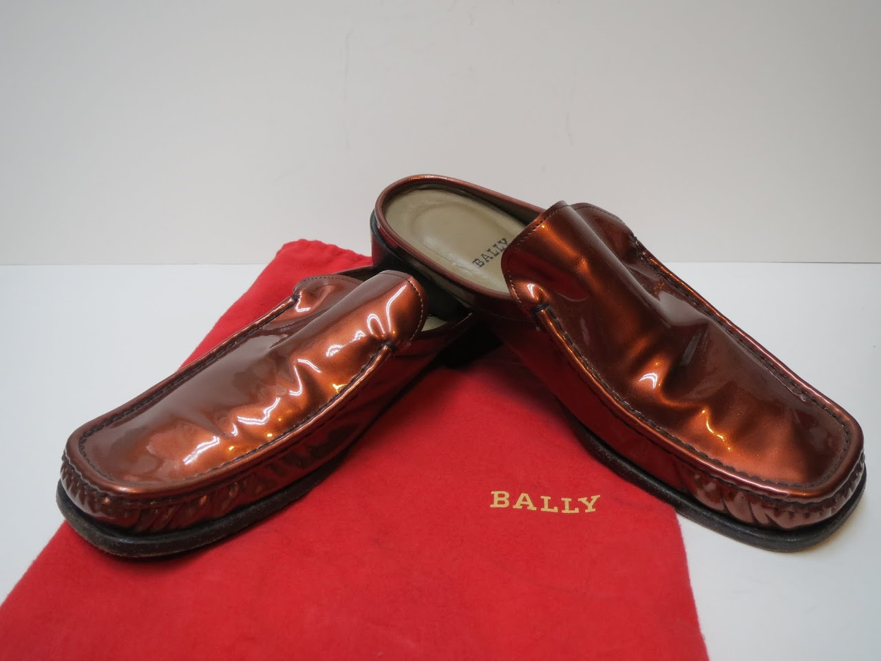 Bally Patent Slides