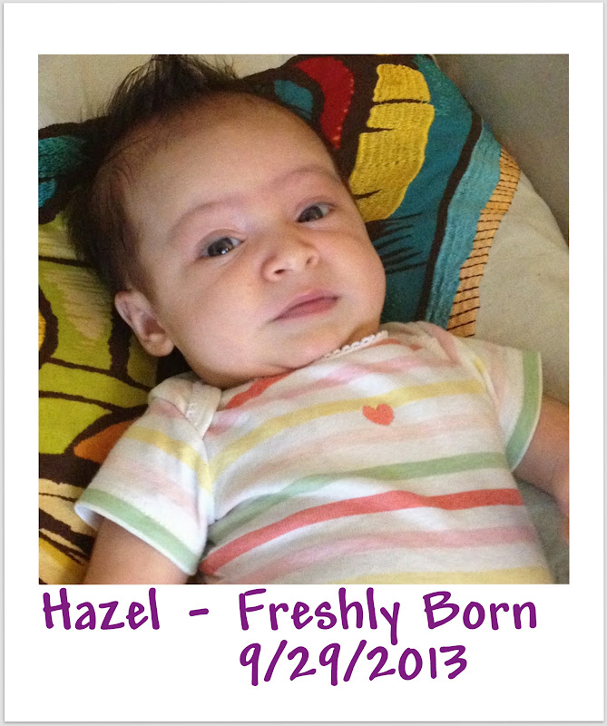 Happy 1st Birthday from Spirit of Life to Hazel