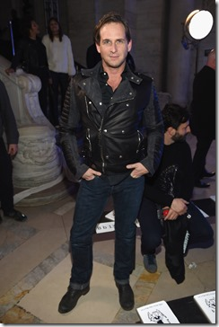 NEW YORK, NY - FEBRUARY 13:  Actor Josh Lucas attends the Front Row for the Philipp Plein Fall/Winter 2017/2018 Women's And Men's Fashion Show at The New York Public Library on February 13, 2017 in New York City.  (Photo by Dimitrios Kambouris/Getty Images for Philipp Plein)