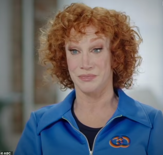 American Comedian Kathy Griffin reveals she has Stage 1 lung cancer and she was put in psychiatric hold after she attempted suicide last year