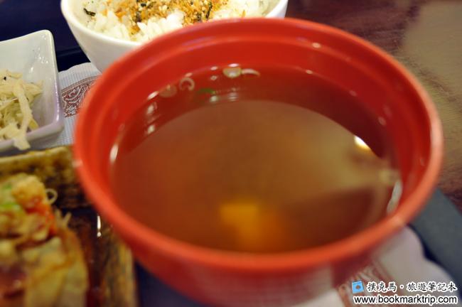 三好狸日式定食湯物