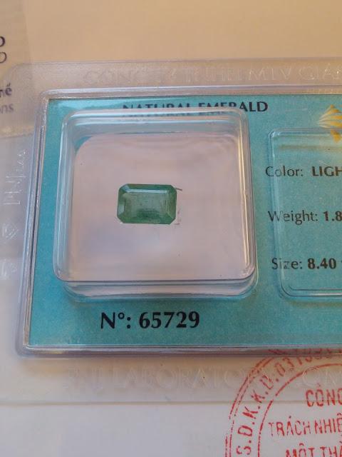Emerald thiên nhiên đã kiểm định PNJ