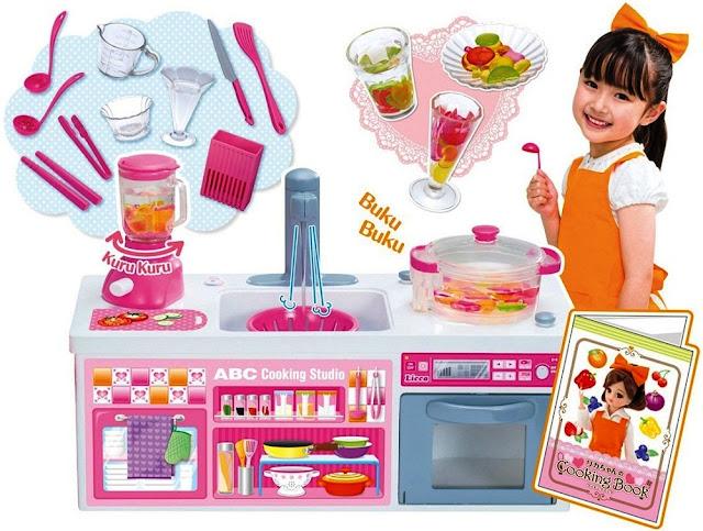 Đồ chơi nấu ăn cùng búp bê Licca ABC Cooking Studio