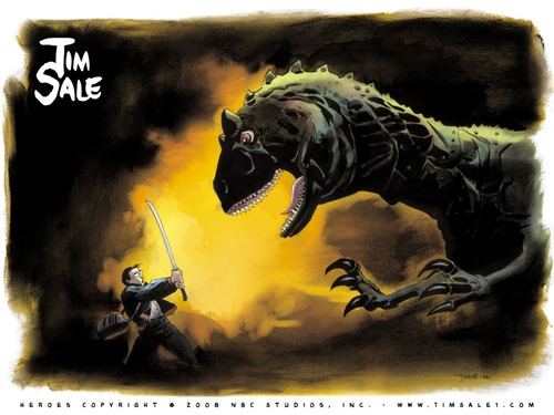 Kensei e il Drago (Heroes - Tim Sale)