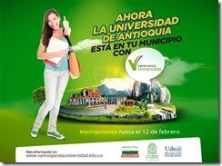 UNIVERSIDAD DE ANTIOQUIA EN MUNICIPIOS