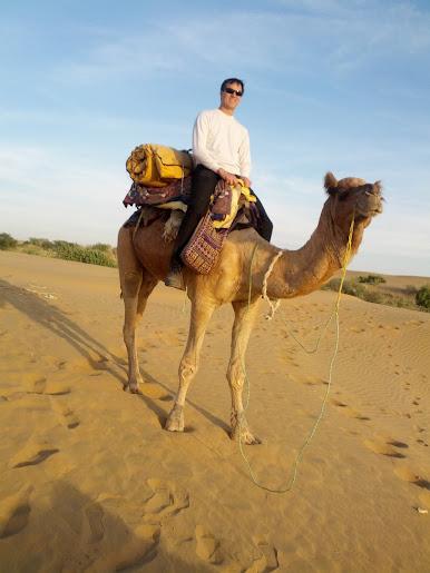I'm on a camel!