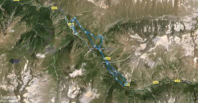 La Christolaise 2011 - parcours