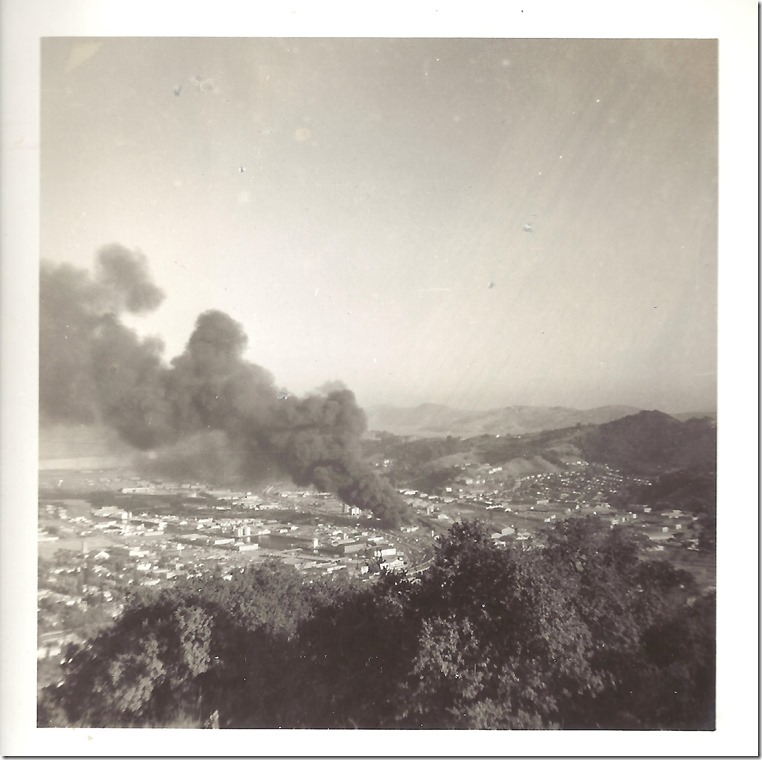 J.B. Rice Fire - 8-26-60