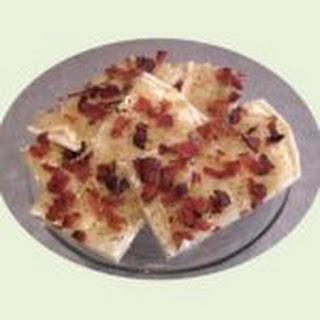 Flammkuchen – German Pizza.