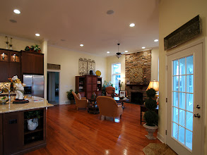 Photo: The main living space in our LEIGHTON model home.