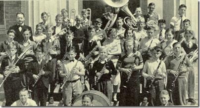 伍德罗威尔逊初中小学基本乐队,1932年