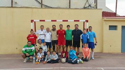 Fútbol padres Carmelitas