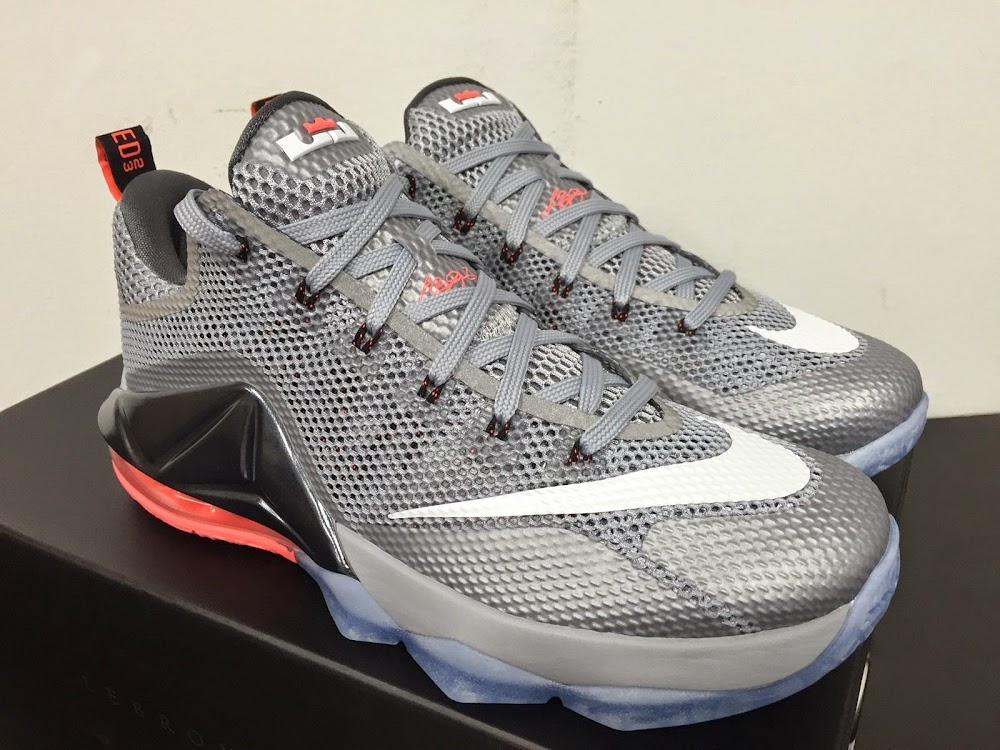 sneakers for cheap 3d2fa f3707 ... Detailed Look at Upcoming Nike LeBron 12 Low 8220Hot Lava8221 ...