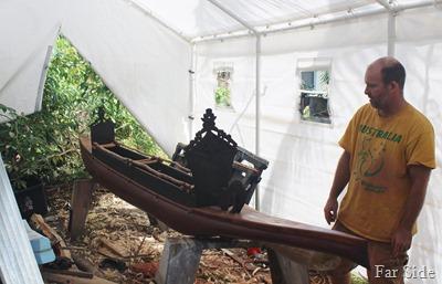 David and his boat