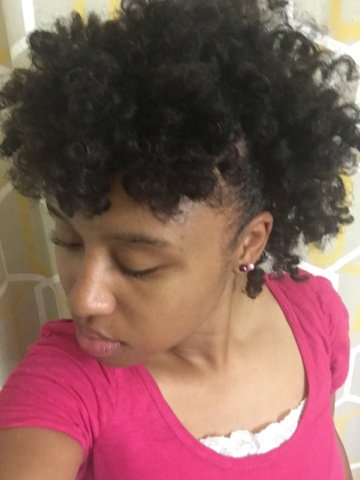 Desire My Natural Roller Set Flexi Rod Natural Hair With Curls Blueberry Bliss