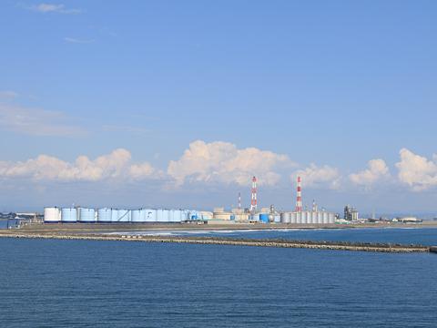 商船三井フェリー「さんふらわあ ふらの」 苫小牧港入港 その2