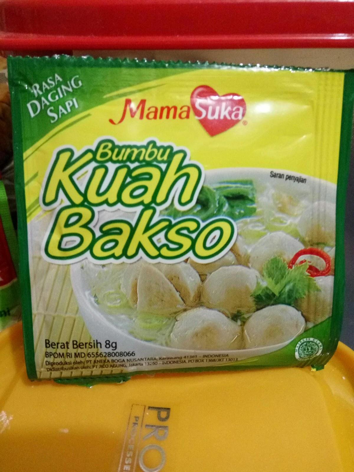 Bumbu Kuah Bakso Solo : bumbu, bakso, Bumbu, Bakso