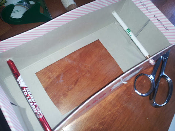 how to make a tv out of a shoebox