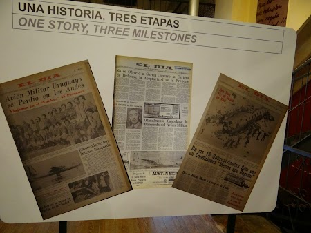 09. Ziare despre tragedia din Anzi.JPG