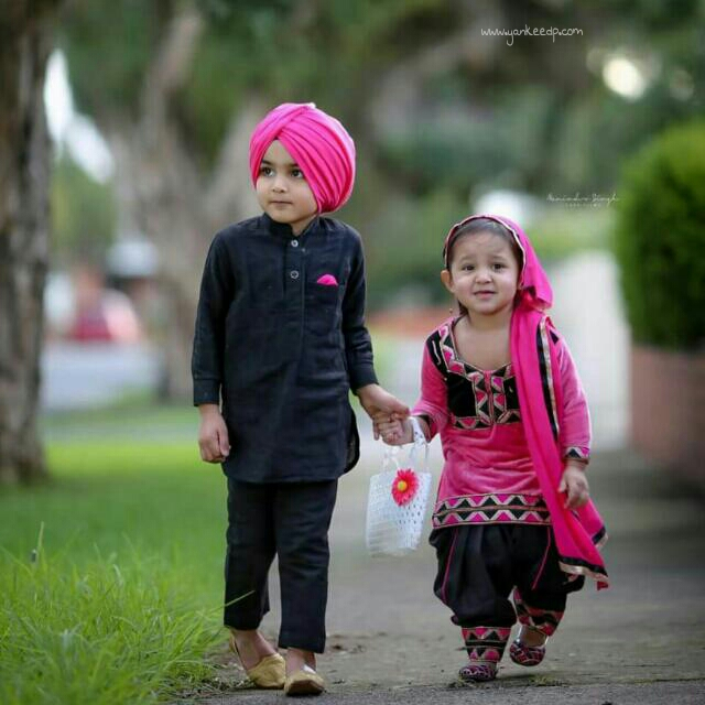 sardar pujabi childrens