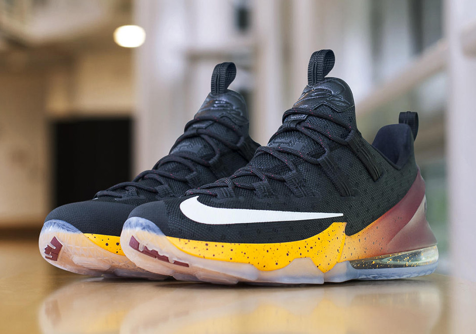 2c75fb0f4c5c JR Smith Has Special Nike LeBron 13 Cavs PEs for the NBA Finals ...