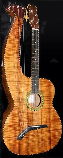 Michael Dunn Harp Ukulele