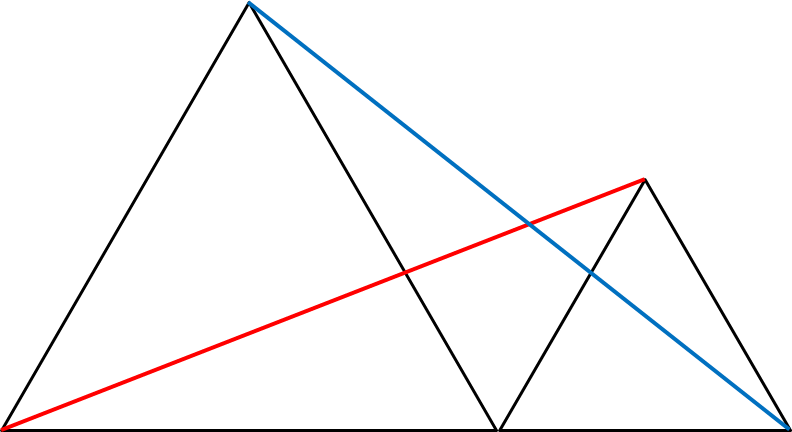 Median Don Steward Mathematics Teaching Two Equilateral