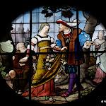 Église Saint-Pierre de Montfort-l'Amaury : vitrail