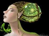 Elven Goddess Of Green Tree