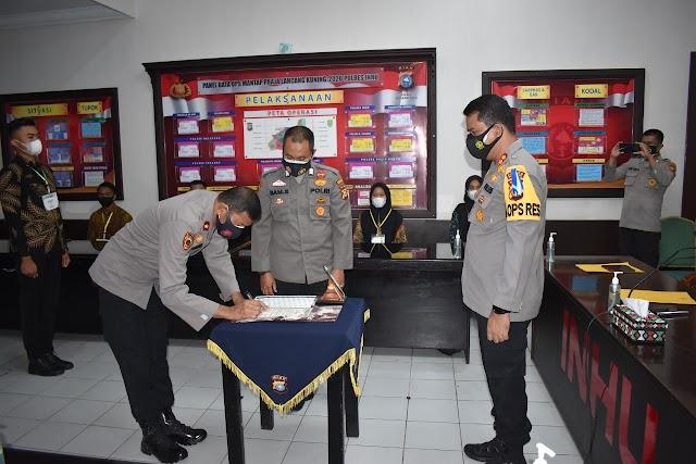 Pakta Integritas Penerimaan Calon Anggota Polri di Polres Inhu Resmi Diteken