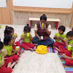 Cooking Experience : Making Roohafza by Nursery Section (2018-19), Witty World, Goregaon East