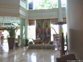Photo: #003-Mandalay, le Mandalay Hill Resort. Le hall d'entrée.