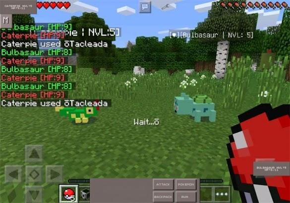 New Pixelmon GO Mod MineCraft- screenshot thumbnail