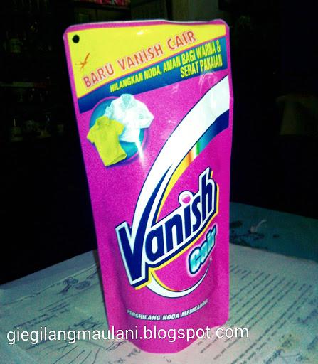 vanish pink menghilangkan luntur