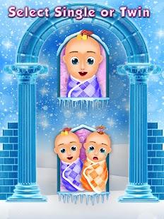 buz anne hamile cerrahlık Yeni doğan İkiz Kız kard Ekran Görüntüsü