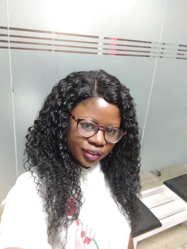 Vanguard Reporter, Iyabo Aina Joins Oran ~Omonaijablog