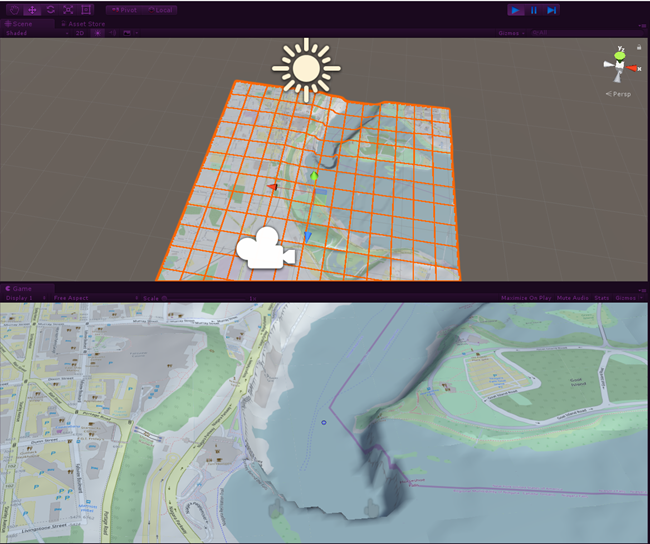 Creating a 3D Topographical Map in HoloLens/Windows MR With Bing